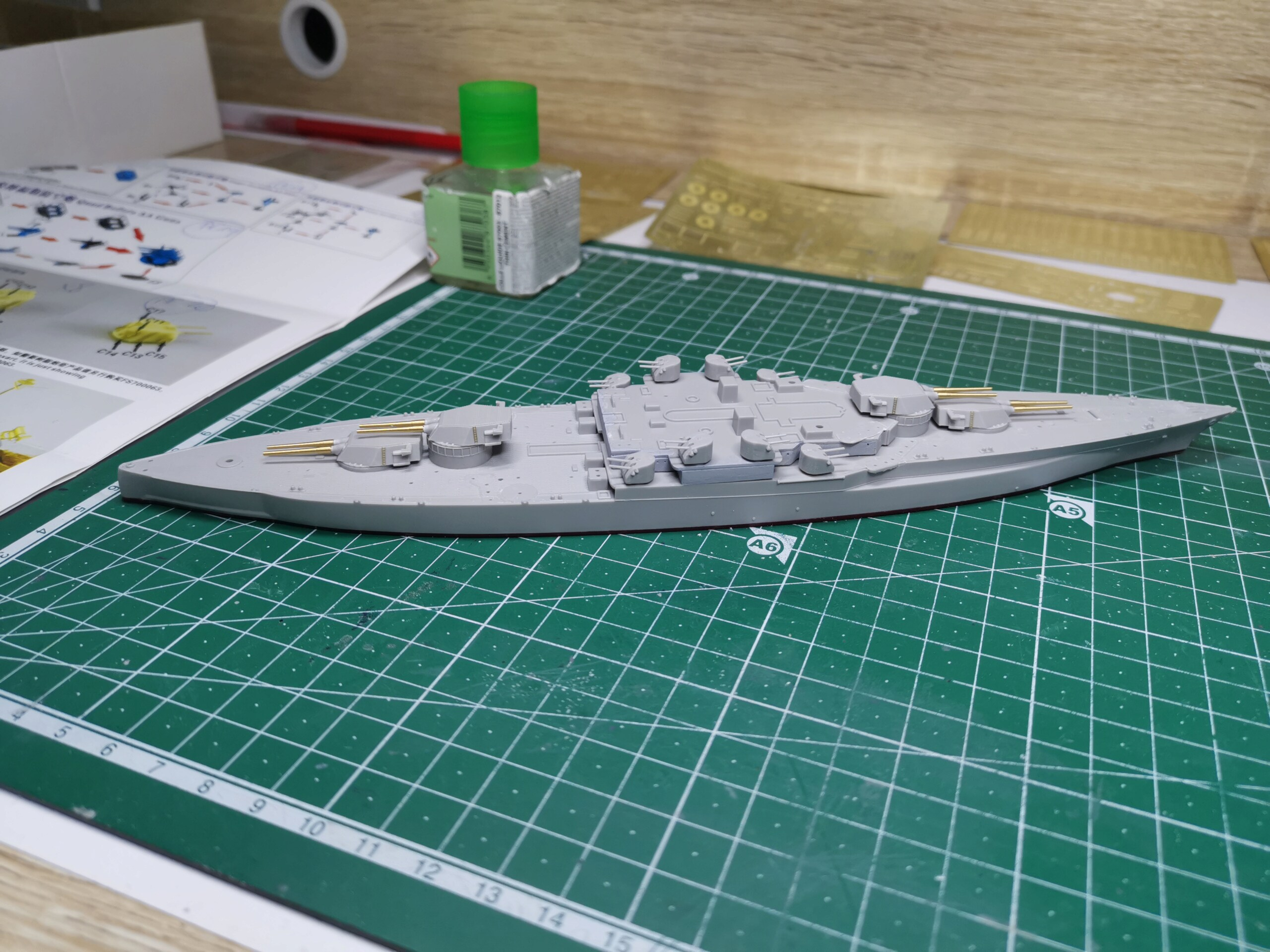 USS West Virginia (Trumpeter + set superdetail Five Star 1/700°) par IsKor 16198810