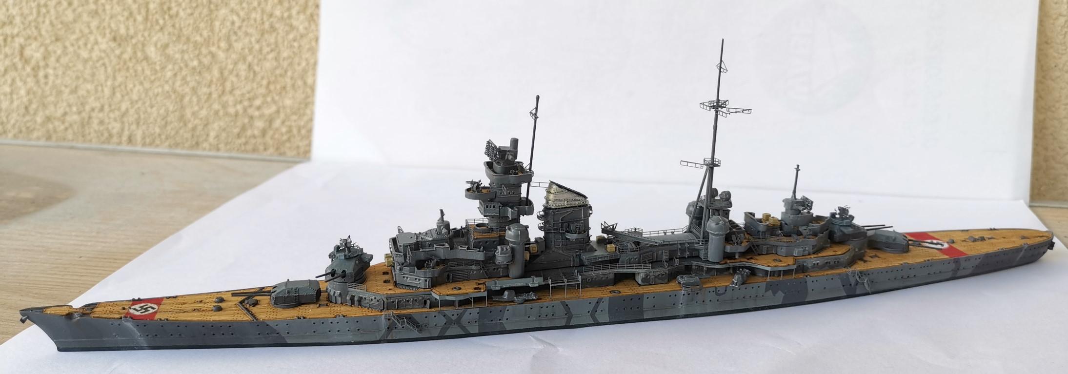 [TERMINE] Croiseur Prinz Eugen Trumpeter 1/700e, PE Flyhawk, pont en bois - Page 6 20200616