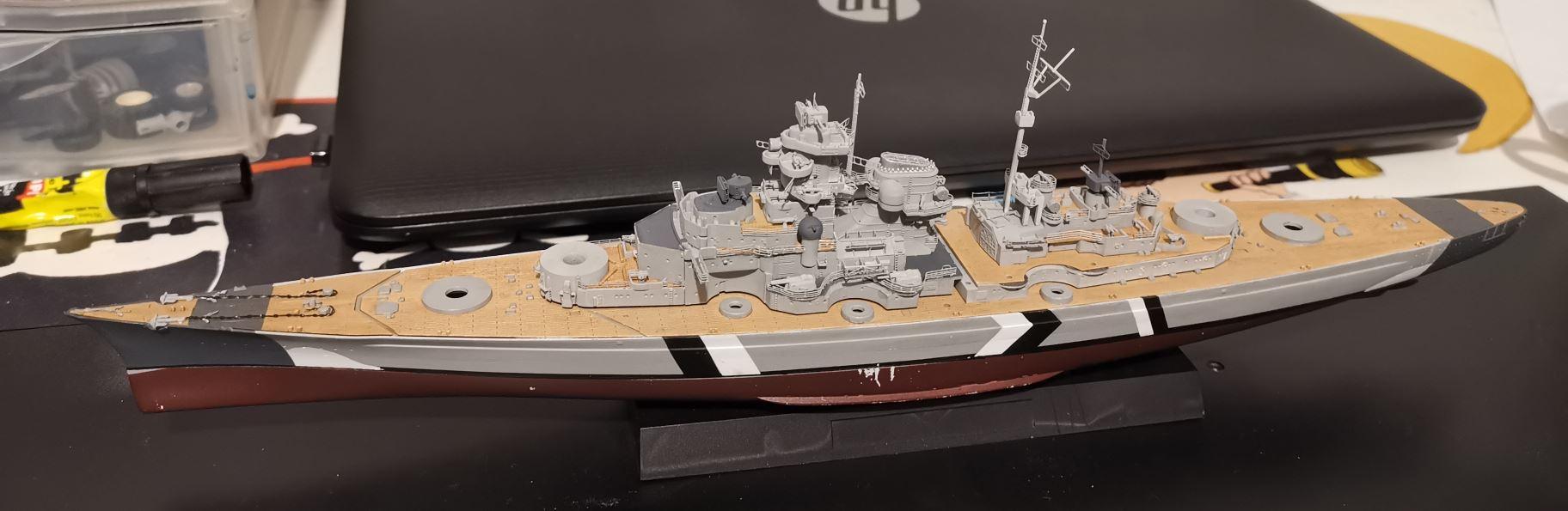 Bismarck MENG au 1/700e kit de PE Eduard - Page 6 260110