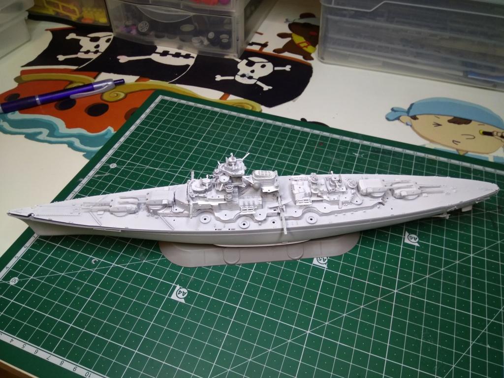 Bismarck MENG au 1/700e kit de PE Eduard - Page 3 Bis10