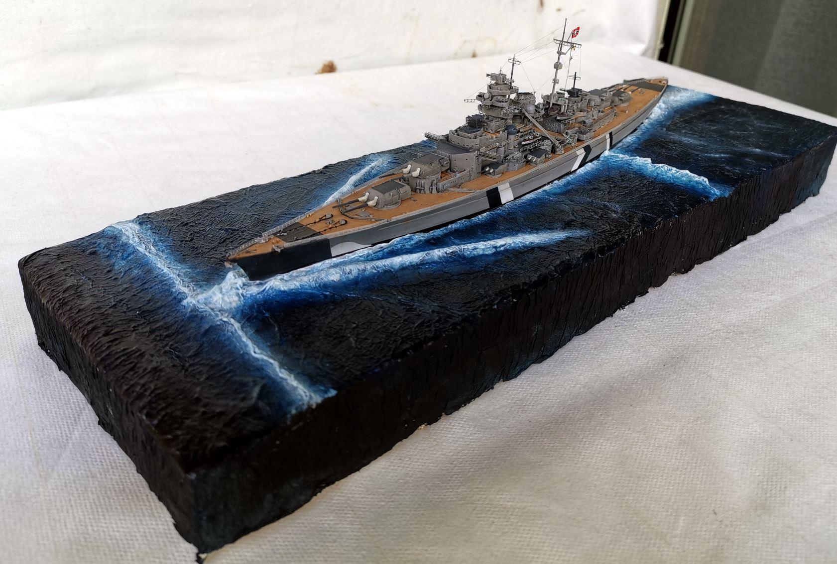 Bismarck MENG 1/700 Bism110