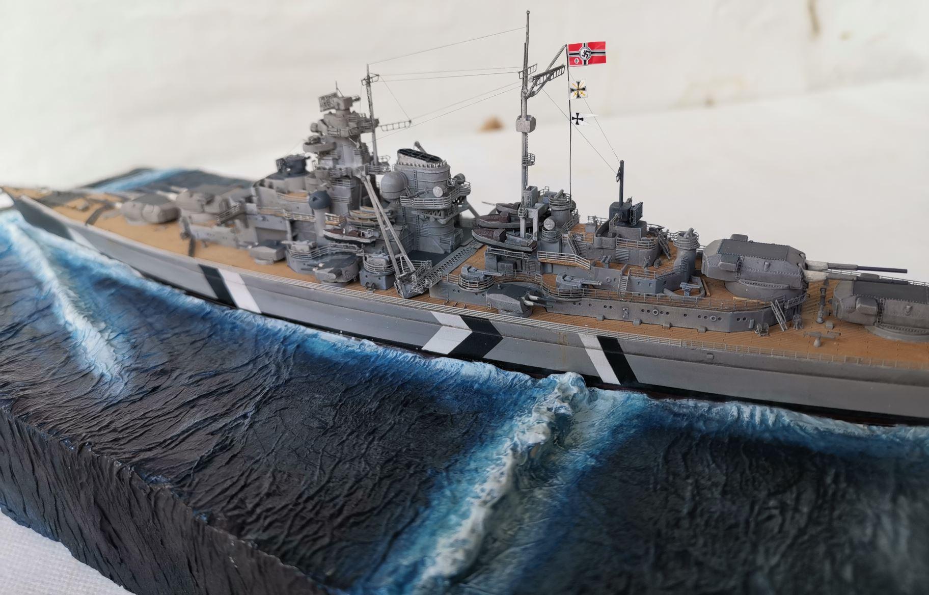 Bismarck MENG 1/700 Bism210