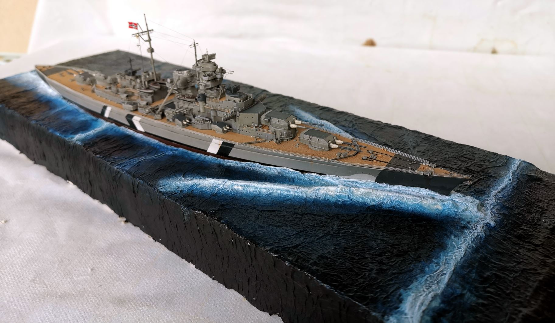 Bismarck MENG 1/700 Bism410