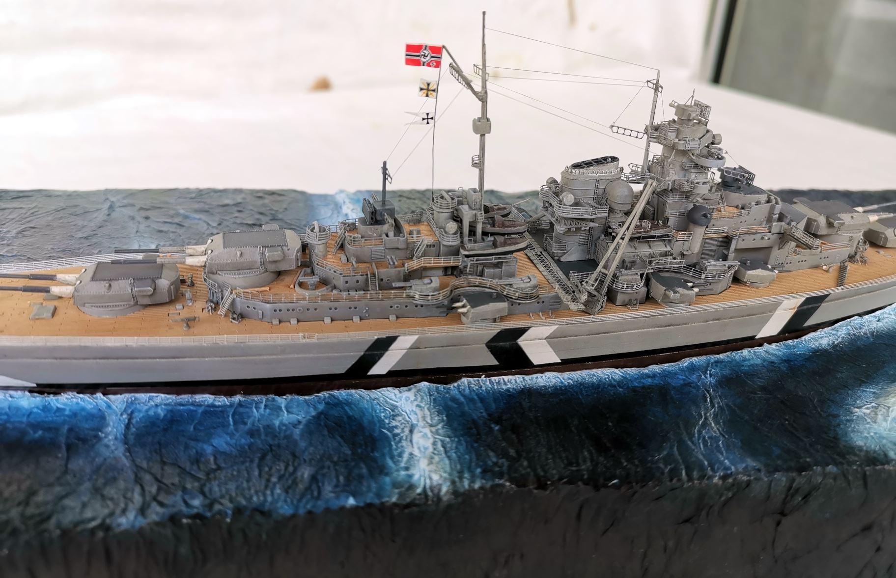 Bismarck MENG 1/700 Bism510
