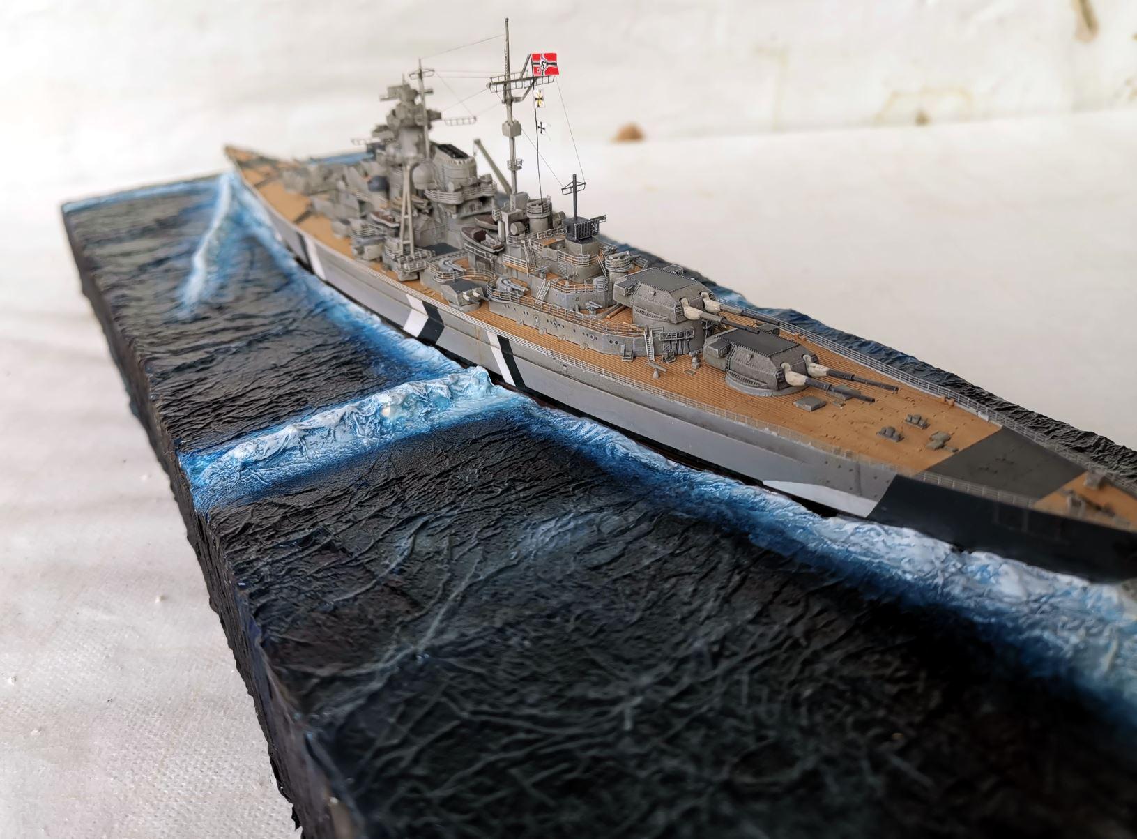 Bismarck MENG 1/700 Bism610