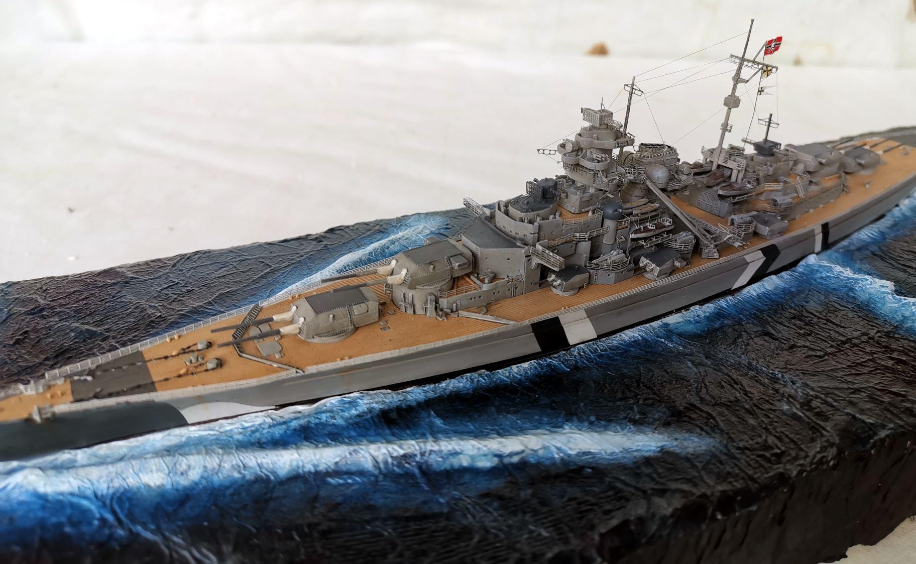 Bismarck MENG 1/700 Bism710