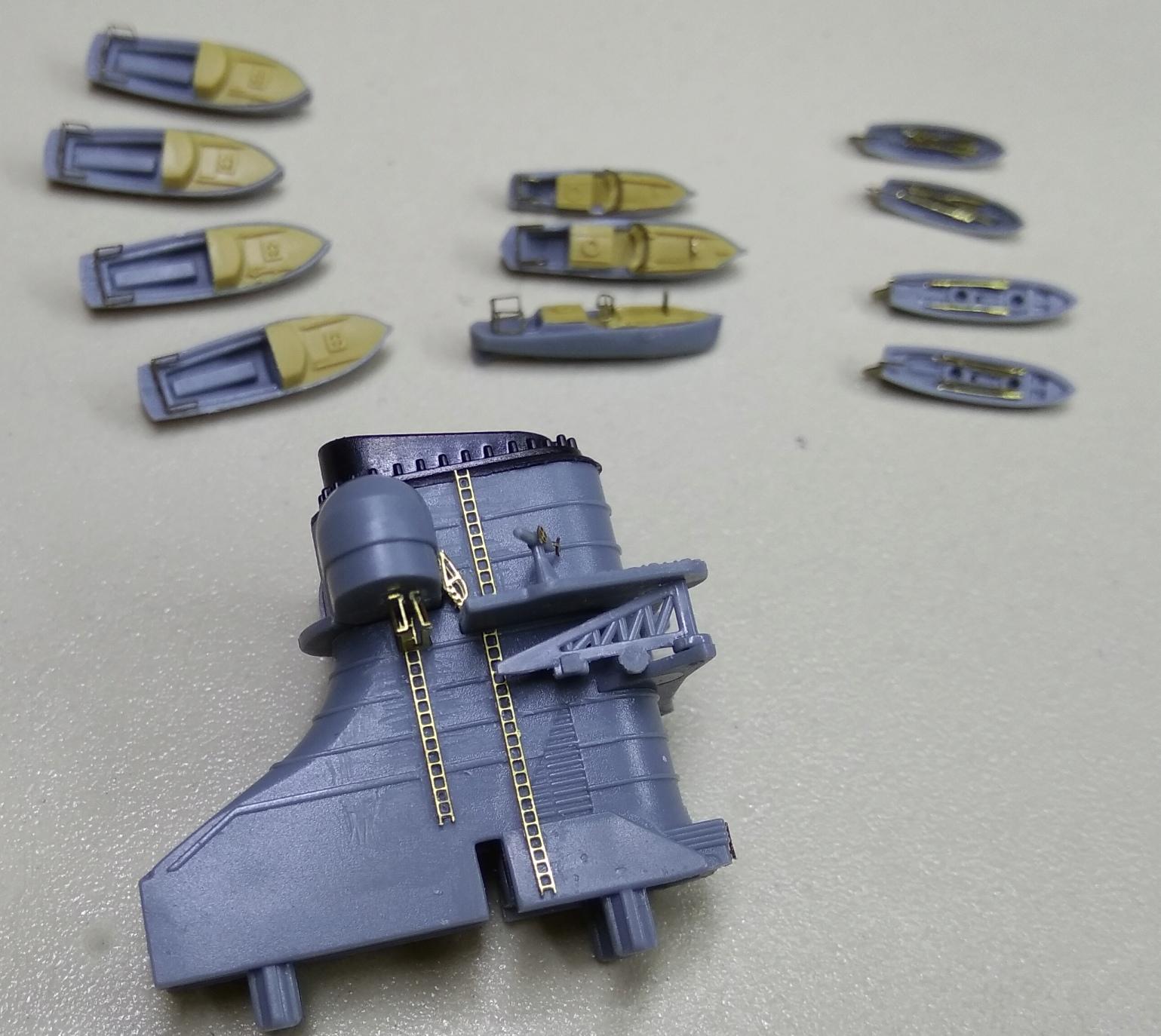 Bismarck MENG au 1/700e kit de PE Eduard Bismar16