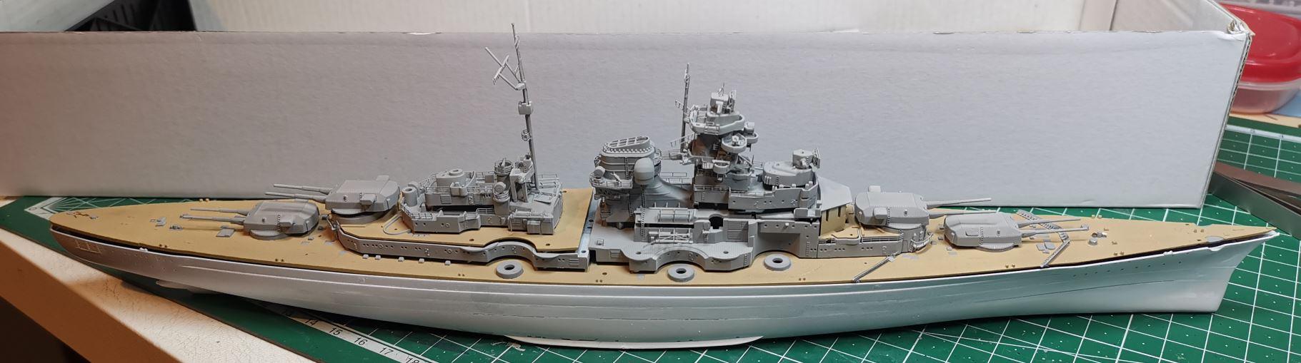 Bismarck MENG au 1/700e kit de PE Eduard - Page 5 Bismar29