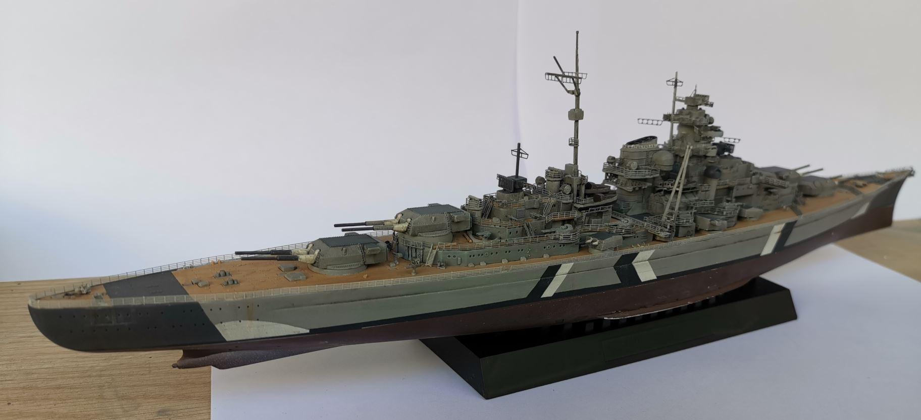 Bismarck MENG au 1/700e kit de PE Eduard - Page 6 Bismar42