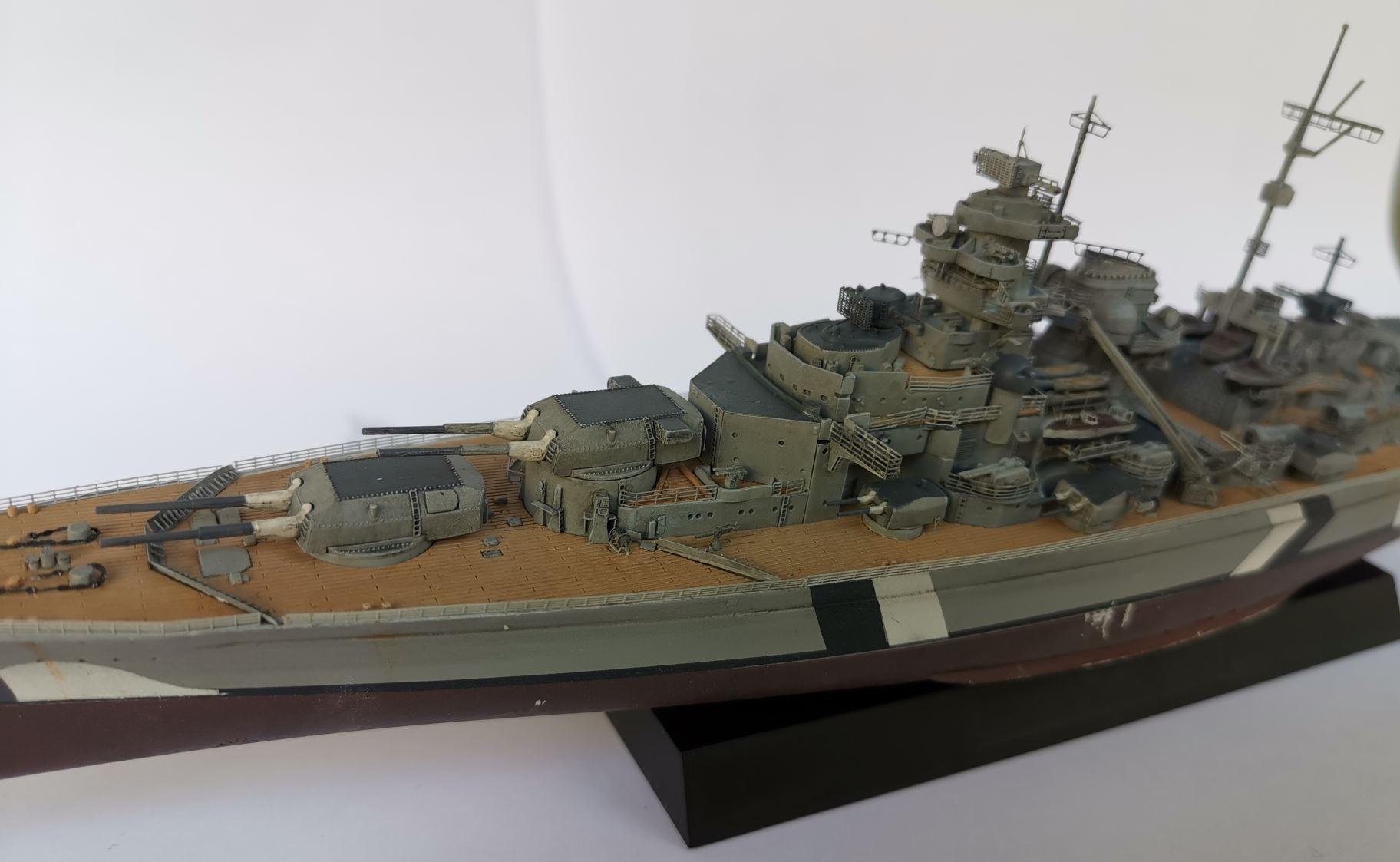 Bismarck MENG au 1/700e kit de PE Eduard - Page 6 Bismar43