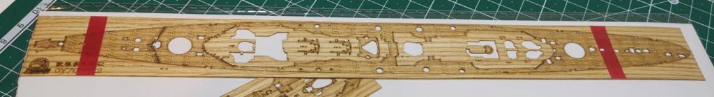 [TERMINE] Croiseur Prinz Eugen Trumpeter 1/700e, PE Flyhawk, pont en bois - Page 3 Deck10