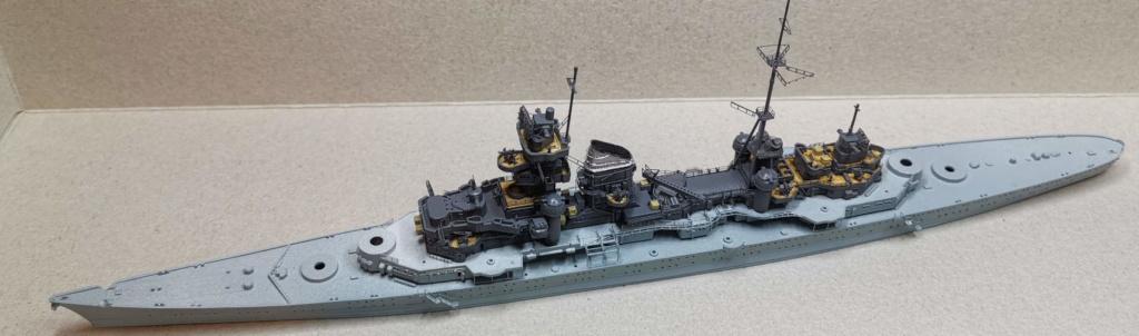[TERMINE] Croiseur Prinz Eugen Trumpeter 1/700e, PE Flyhawk, pont en bois - Page 6 Ensemb10