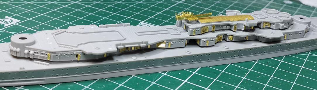 [TERMINE] Croiseur Prinz Eugen Trumpeter 1/700e, PE Flyhawk, pont en bois - Page 2 Eugen210