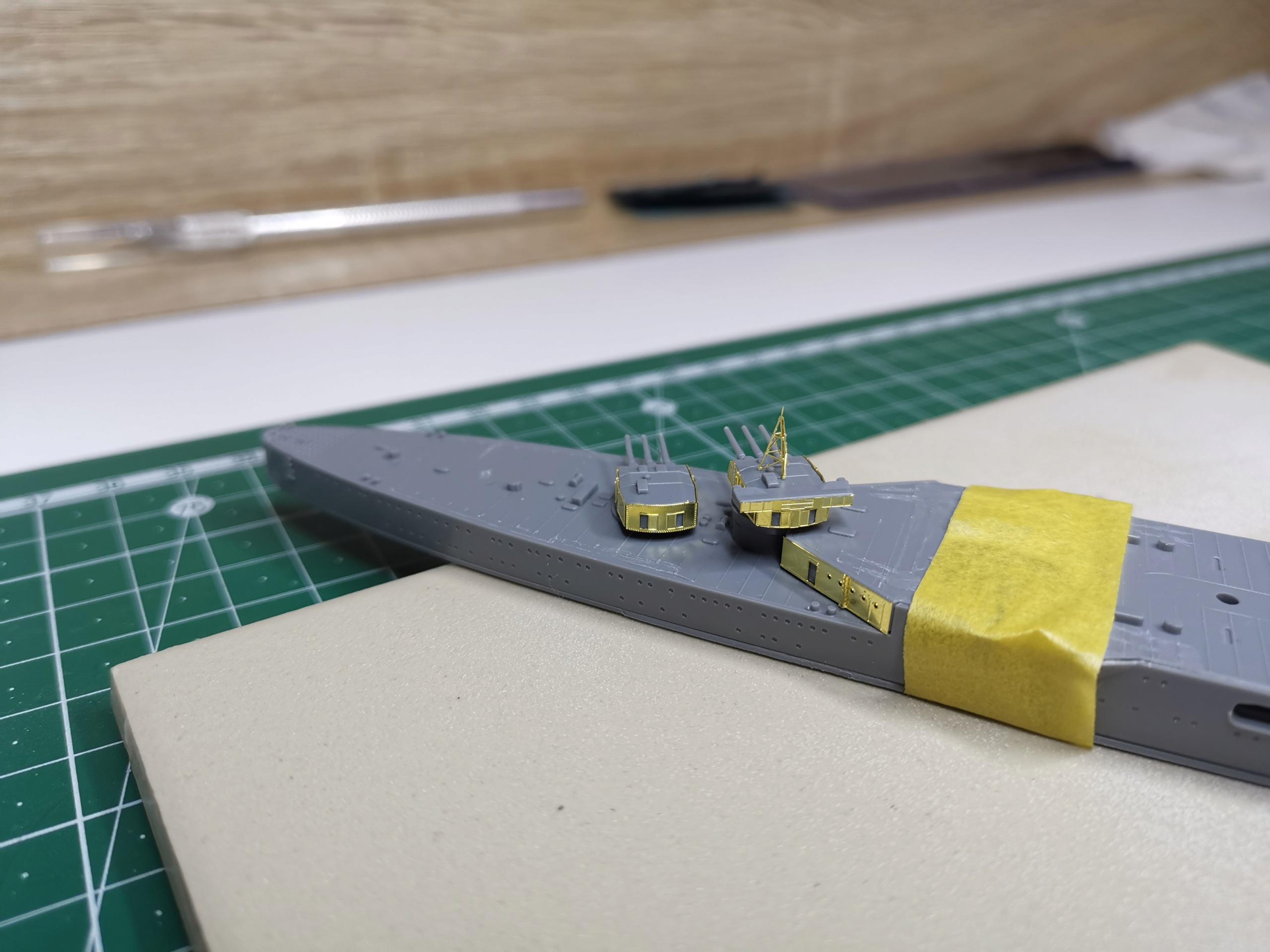 Croiseur léger Mogami Tamiya 1/700e + PE Artist Hobby Img_2010