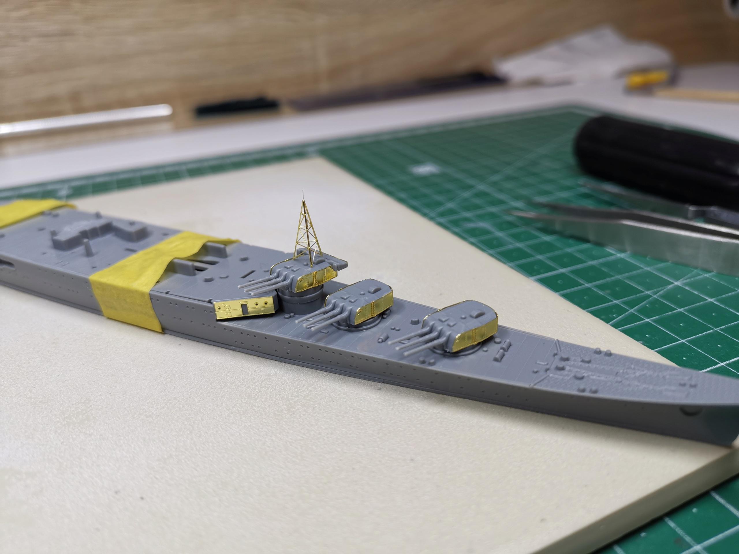 Croiseur léger Mogami Tamiya 1/700e + PE Artist Hobby Img_2011