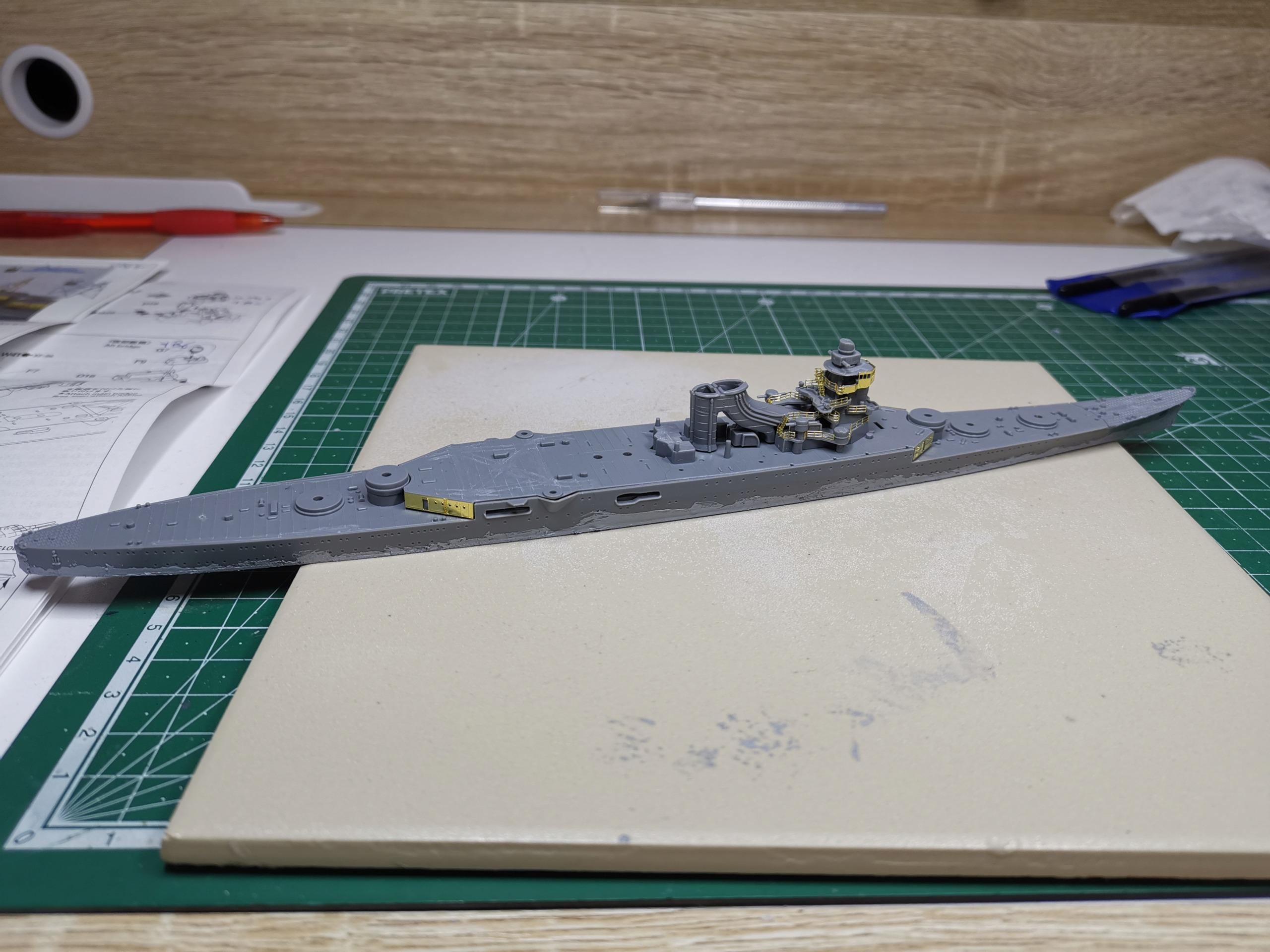 Croiseur léger Mogami Tamiya 1/700e + PE Artist Hobby Img_2014