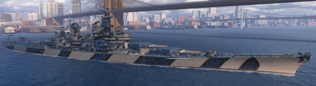 [Uchronie] USS Lake Michigan (base Iowa Trumpeter 1/200°) par hibikitokay Iowa210