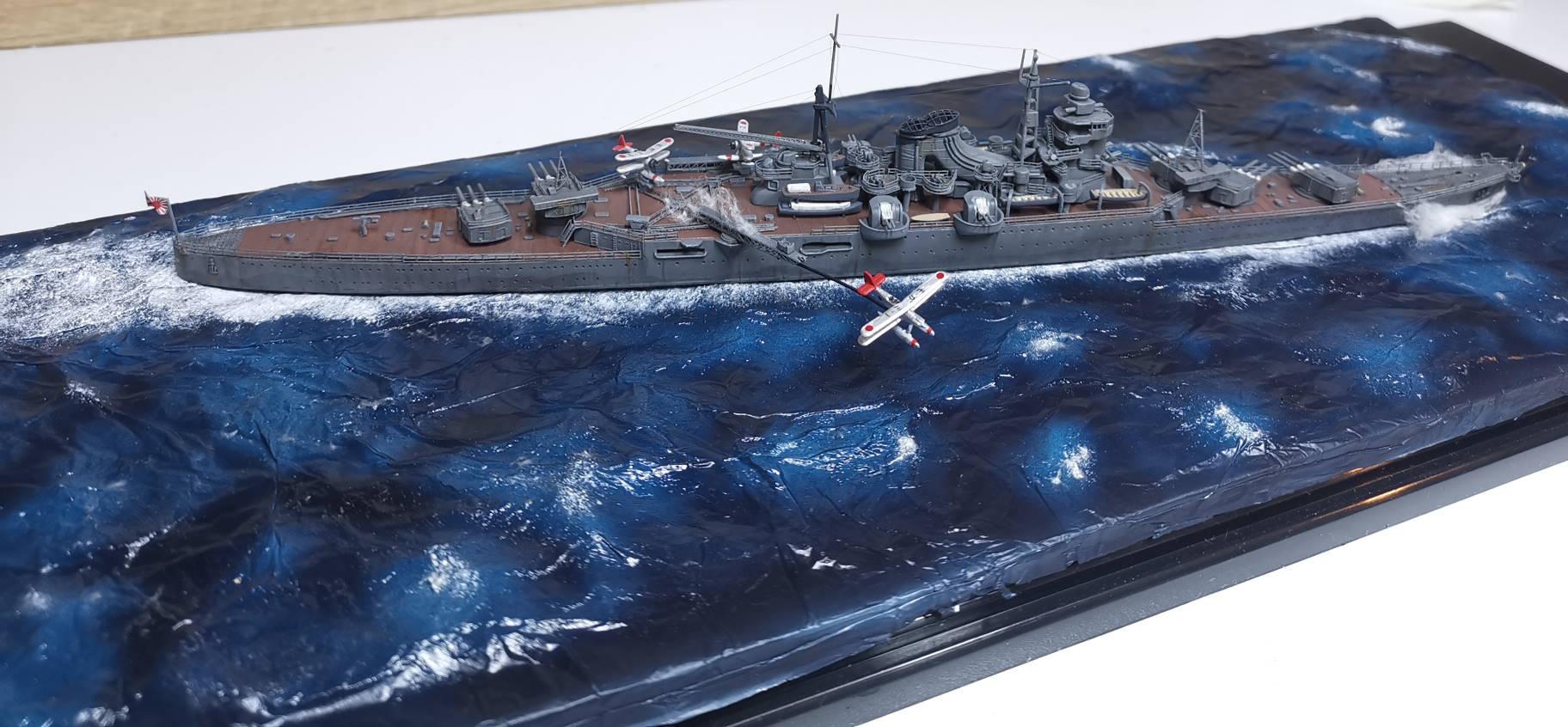 Croiseur léger Mogami Tamiya 1/700e + PE Artist Hobby - Page 3 Mogami18