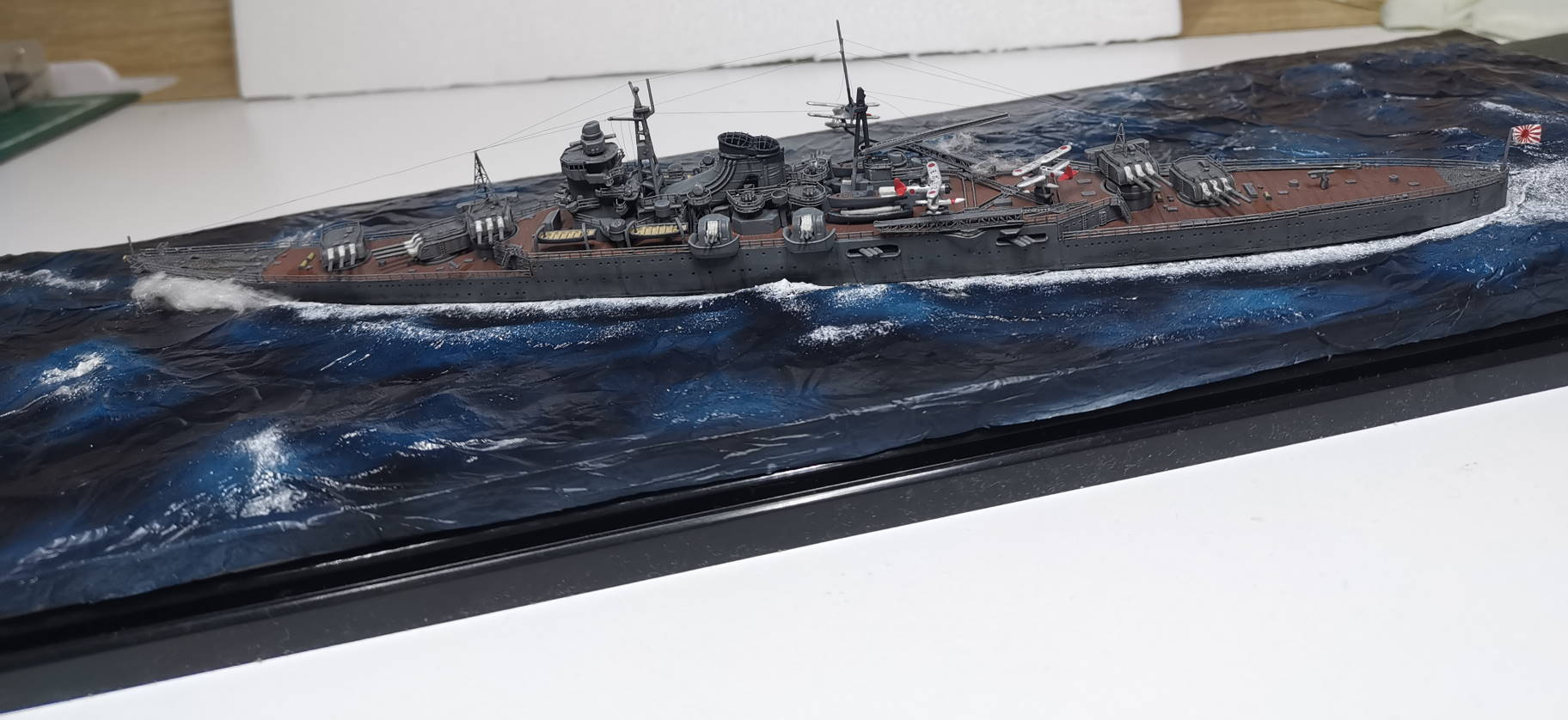 Croiseur léger Mogami Tamiya 1/700e + PE Artist Hobby - Page 3 Mogami20