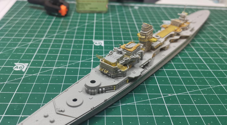 [TERMINE] Croiseur Prinz Eugen Trumpeter 1/700e, PE Flyhawk, pont en bois - Page 3 Prinz110