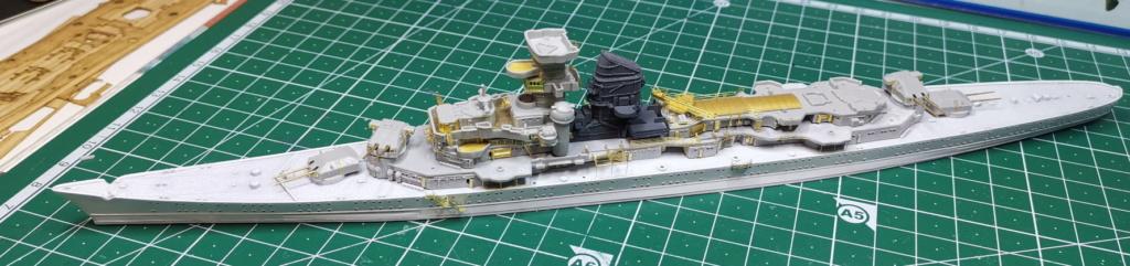 [TERMINE] Croiseur Prinz Eugen Trumpeter 1/700e, PE Flyhawk, pont en bois - Page 5 Prinz212