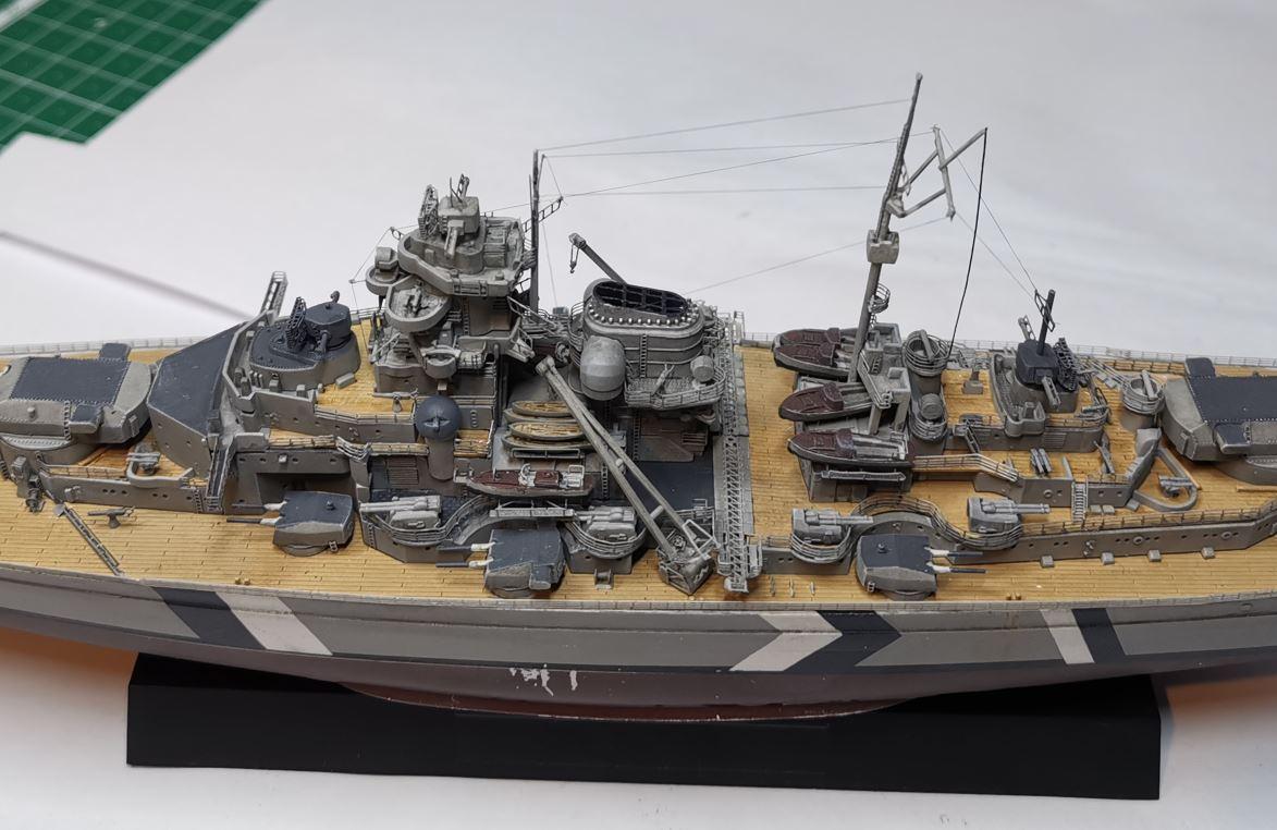 Bismarck MENG au 1/700e kit de PE Eduard - Page 6 Rig110