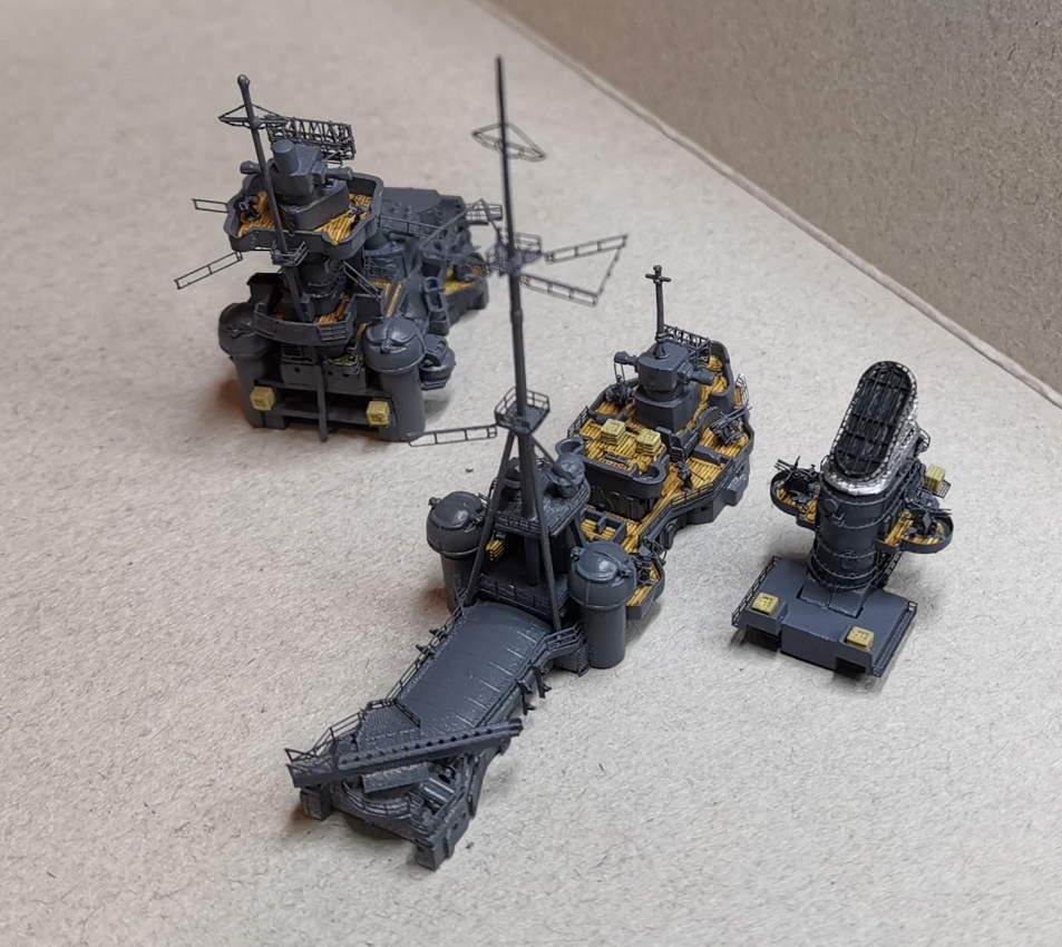 [TERMINE] Croiseur Prinz Eugen Trumpeter 1/700e, PE Flyhawk, pont en bois - Page 6 Supers12