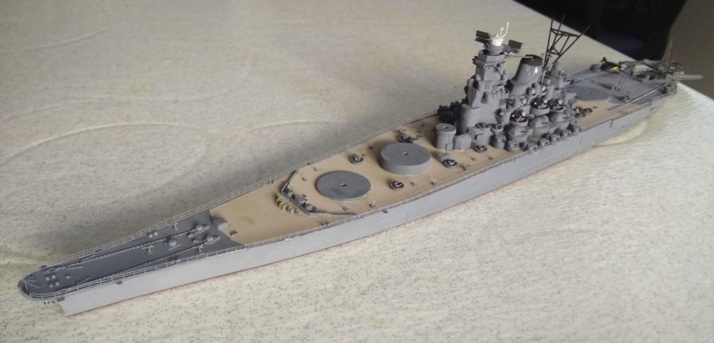 IJN Yamato Tamiya 1/700e + PE Eduard - Page 4 Yam111