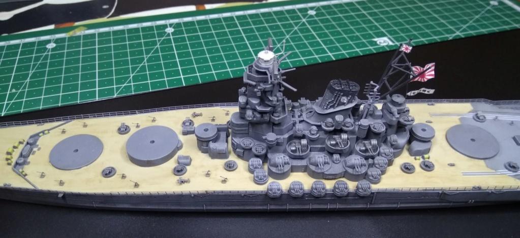 IJN Yamato Tamiya 1/700e + PE Eduard - Page 5 Yam112