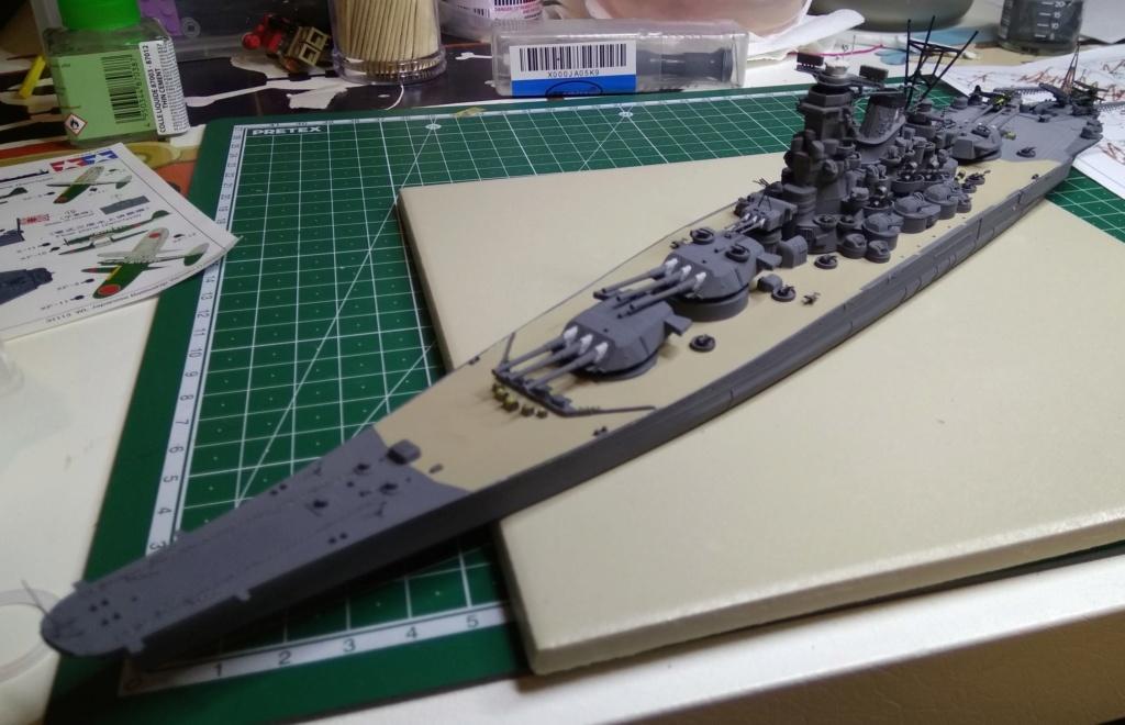 IJN Yamato Tamiya 1/700e + PE Eduard - Page 4 Yam210