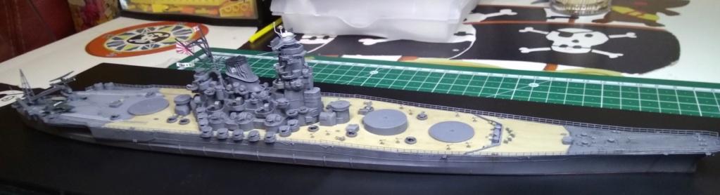IJN Yamato Tamiya 1/700e + PE Eduard - Page 5 Yam212