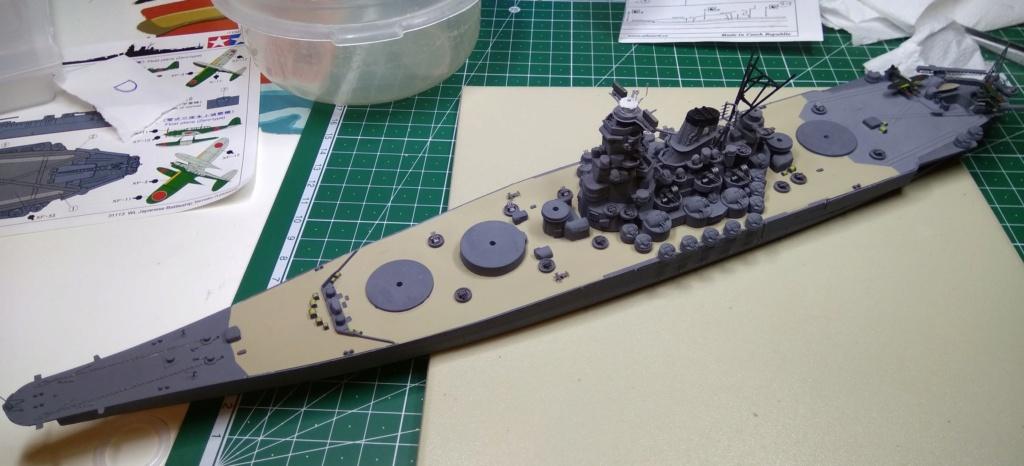 IJN Yamato Tamiya 1/700e + PE Eduard - Page 4 Yam310