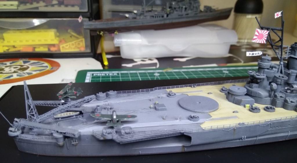 IJN Yamato Tamiya 1/700e + PE Eduard - Page 5 Yam312