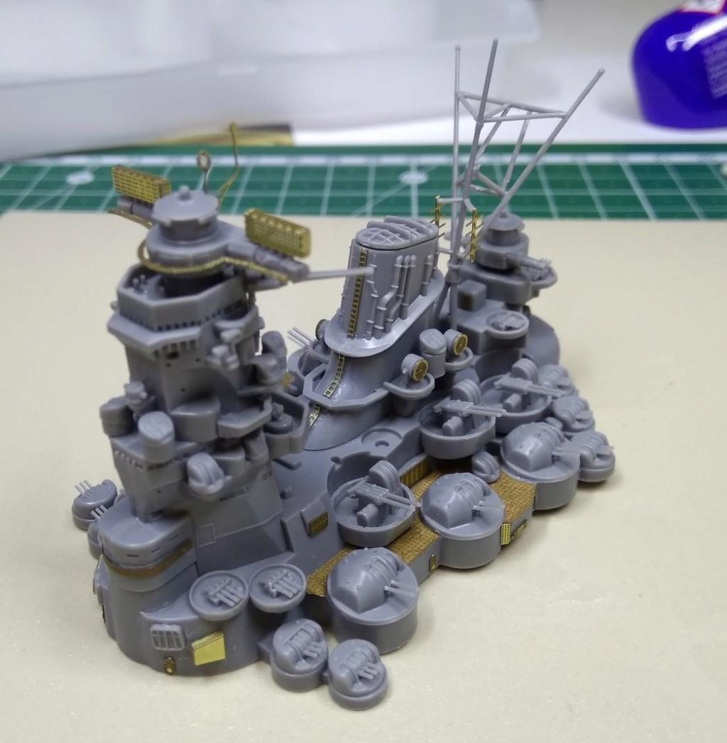 IJN Yamato Tamiya 1/700e + PE Eduard - Page 3 Yamato11