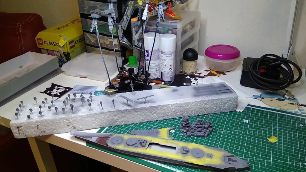 IJN Yamato Tamiya 1/700e + PE Eduard - Page 4 Yamato14