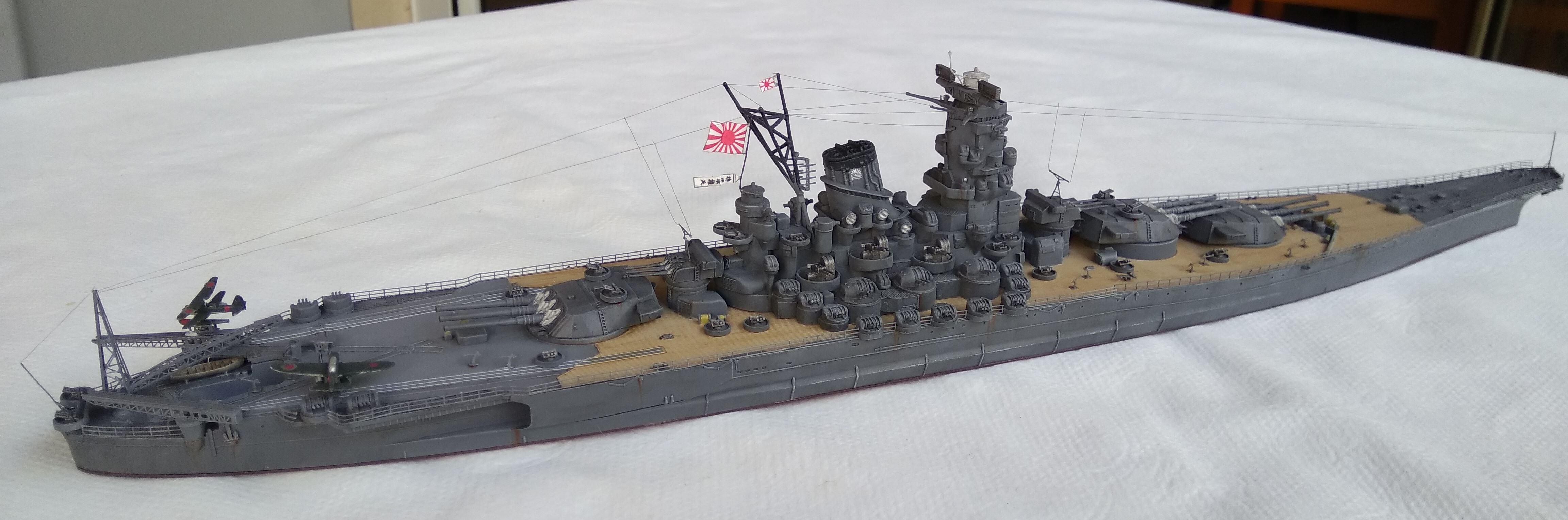 Yamato 1/700e Tamiya Yamato22