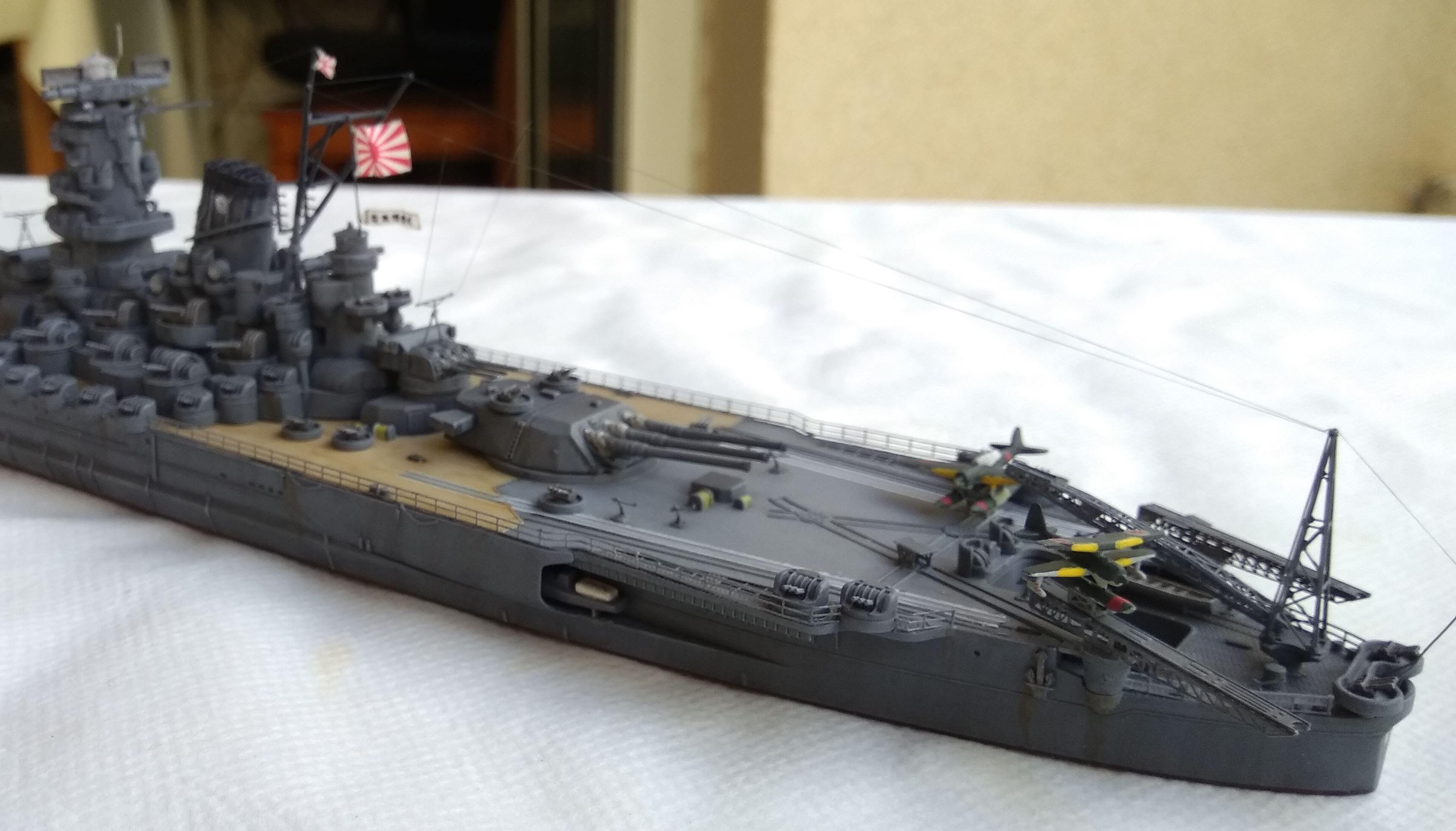 Yamato 1/700e Tamiya Yamato30