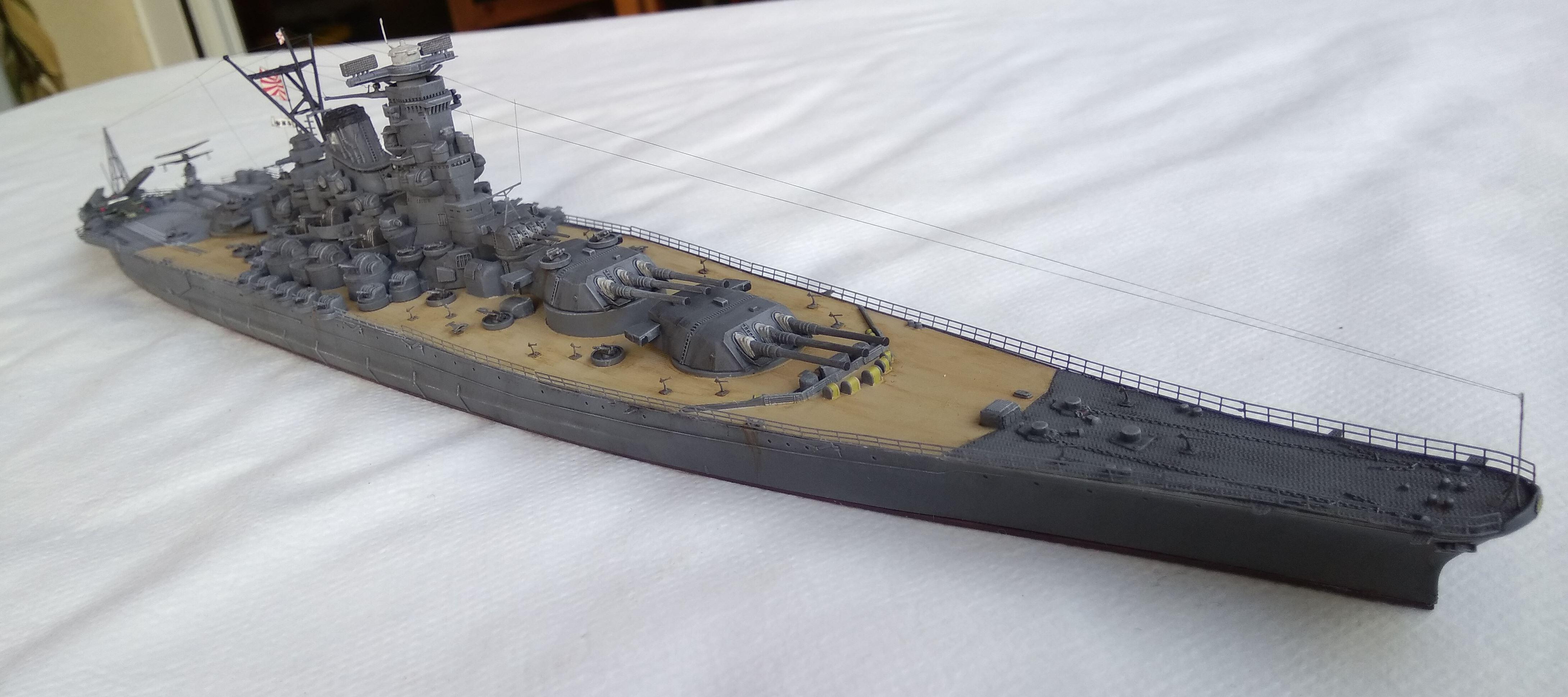 Yamato 1/700e Tamiya Yamato31