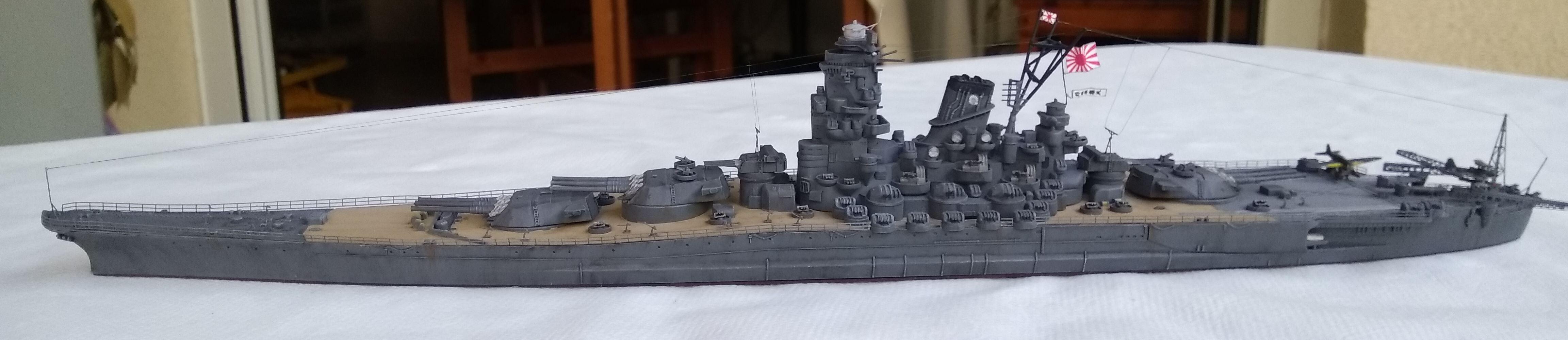Yamato 1/700e Tamiya Yamato36