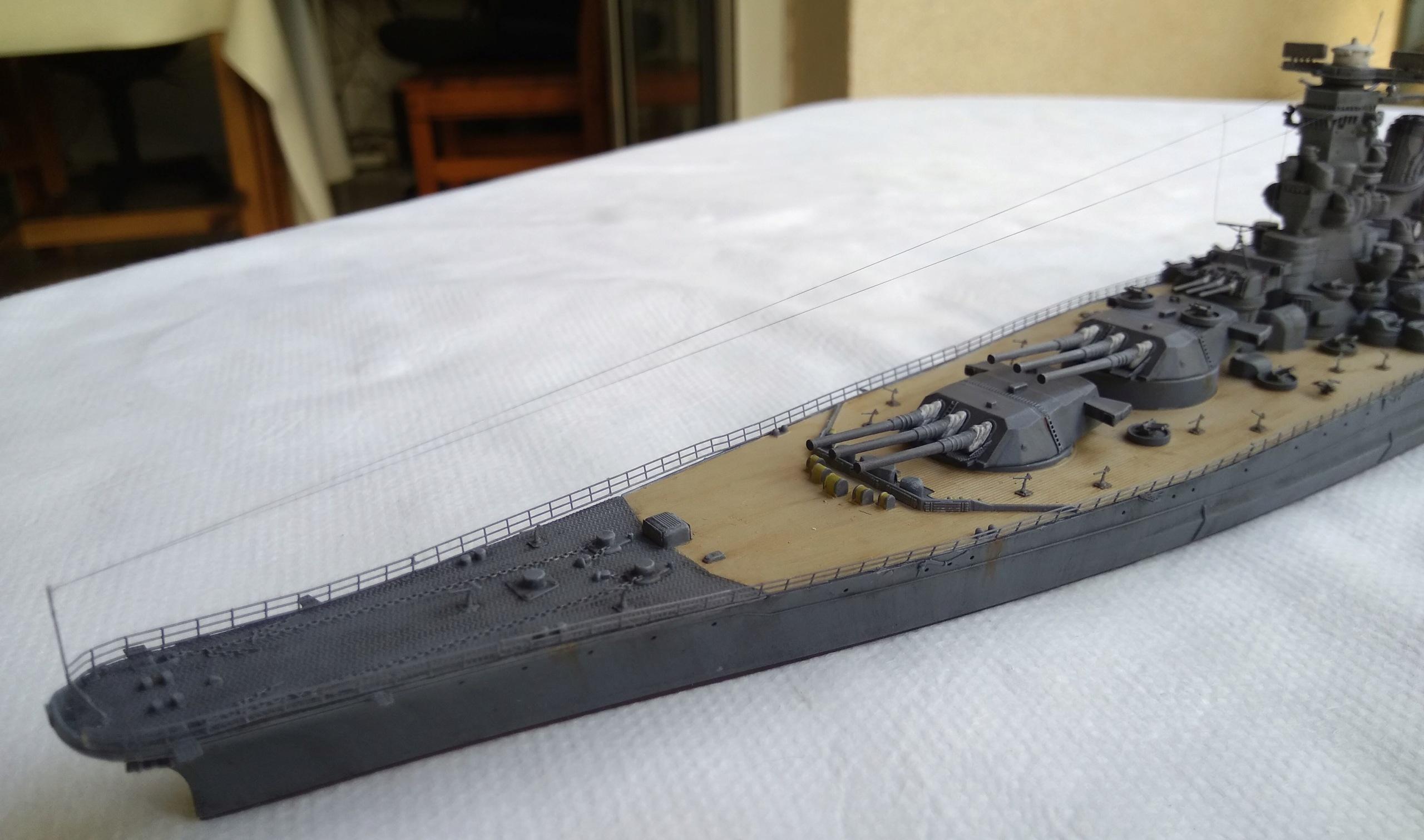 Yamato 1/700e Tamiya Yamato37