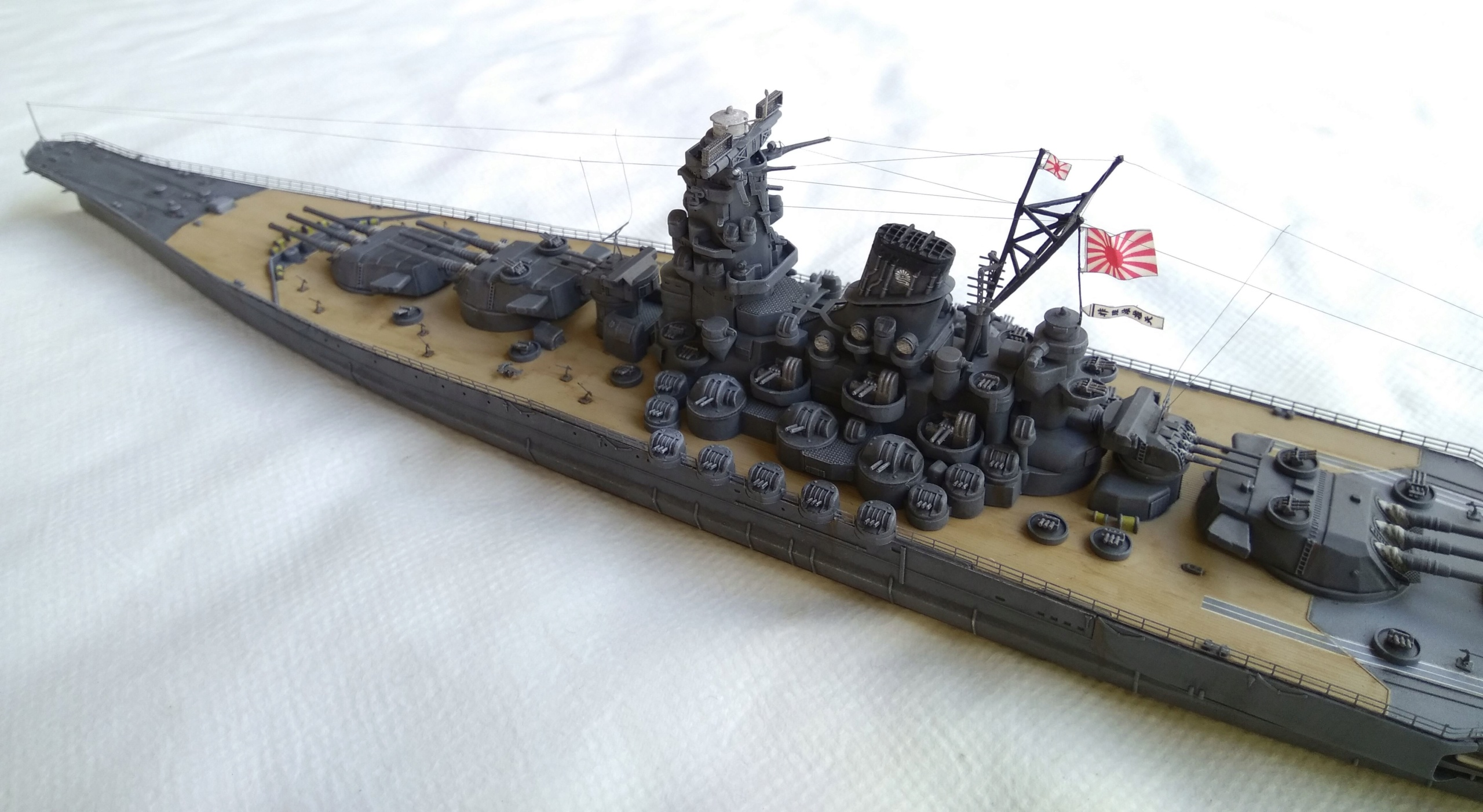 Yamato 1/700e Tamiya Yamato38