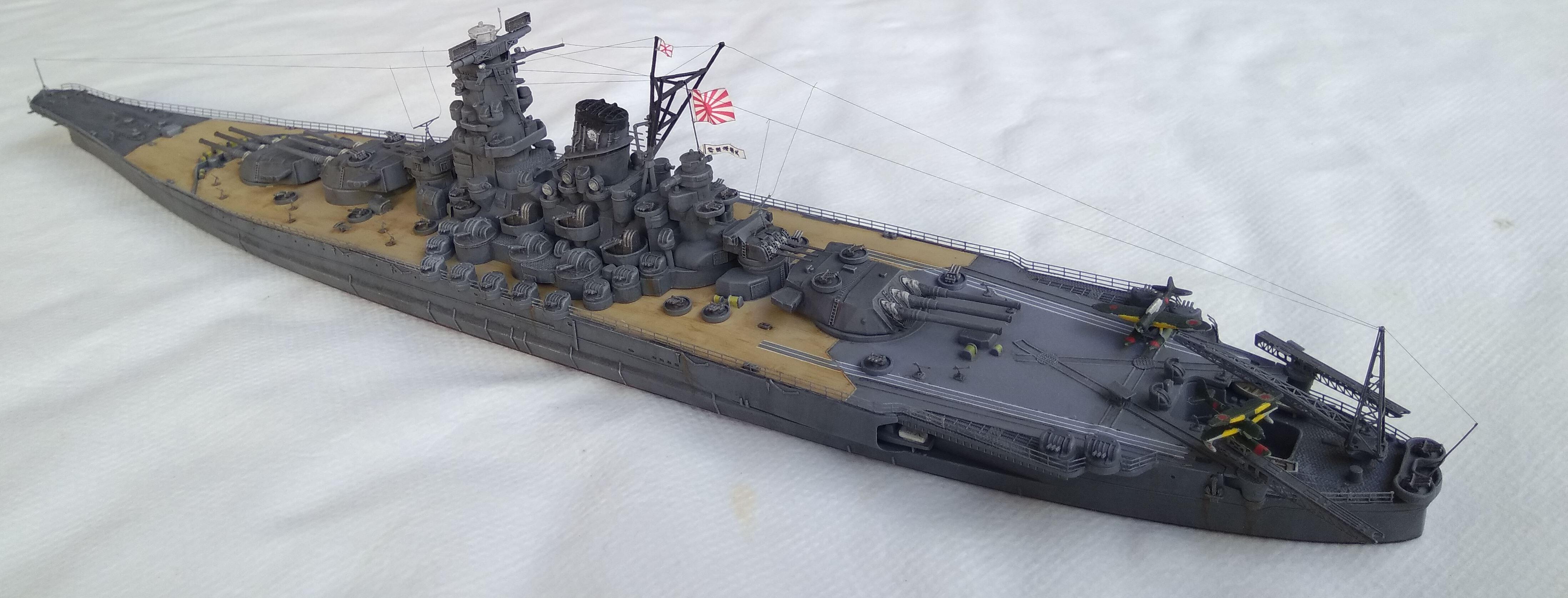 Yamato 1/700e Tamiya Yamato39
