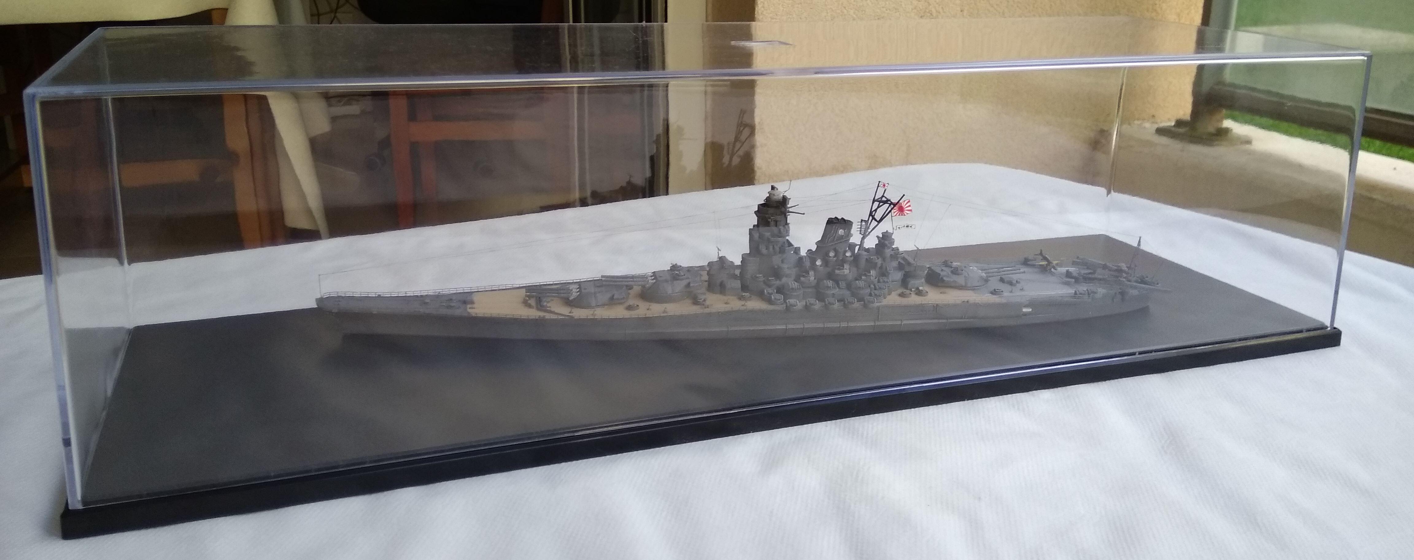 Yamato 1/700e Tamiya Yamato40