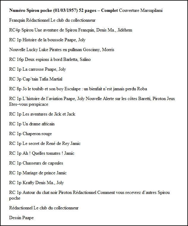 Journal de Spirou : les numéros spéciaux - Page 4 -t2kdp10