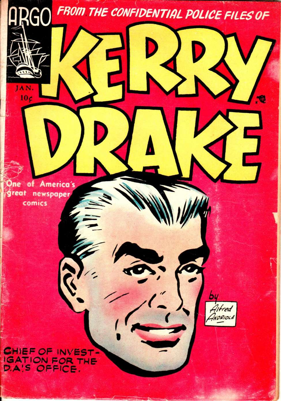 Kerry Drake, l'autre série policière d'Alfred Andriola - Page 4 010