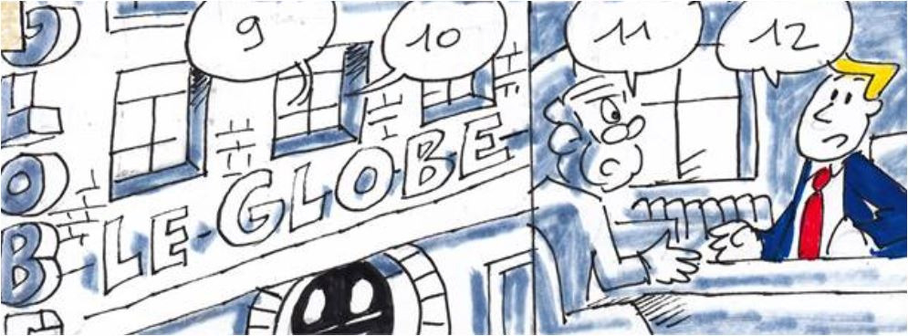 """""""Le GLOBE"""" 11050410"""