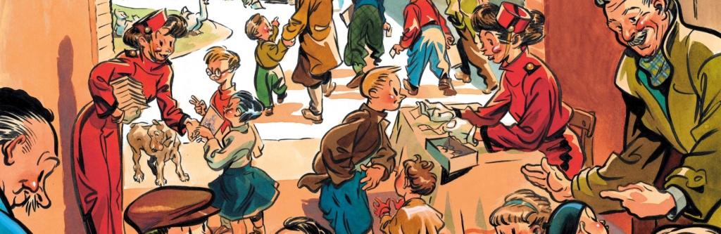 Spirou et ses dessinateurs - Page 11 117