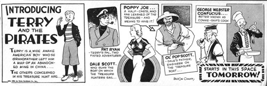 Terry et les pirates de Milton CANIFF - Page 8 15_pre10