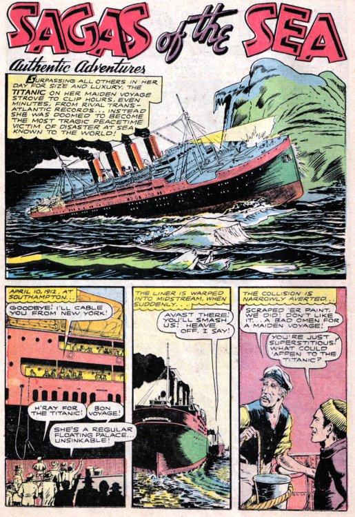 14/15 AVRIL 1912 : Naufrage du R.M.S.TITANIC  19867510
