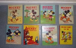 Tous les albums de Mickey 28120410
